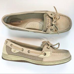 Sperry Top-Sider Boat Shoe Neutral Beige  10